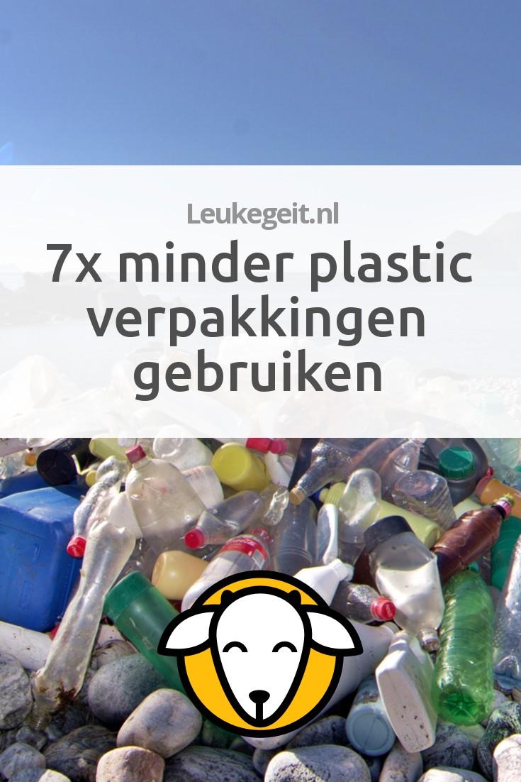 7x minder plastic verpakkingen gebruiken leukegeit for Plastic verpakkingen