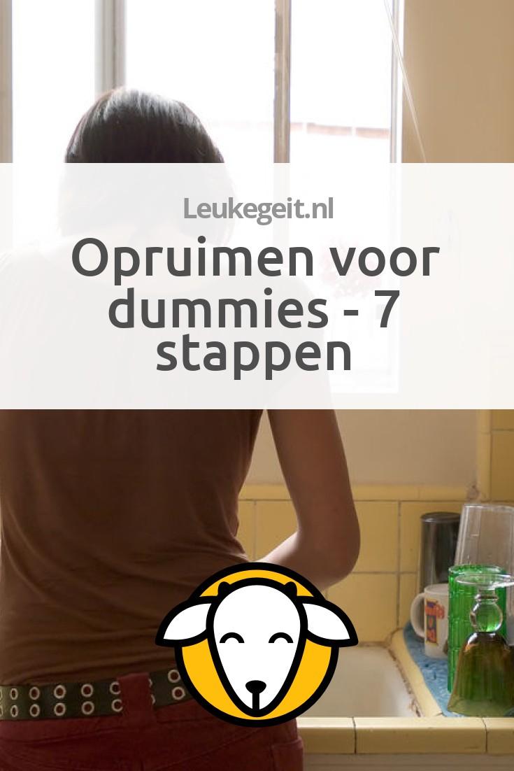 Opruimen voor dummies - 7 stappen - Leukegeit