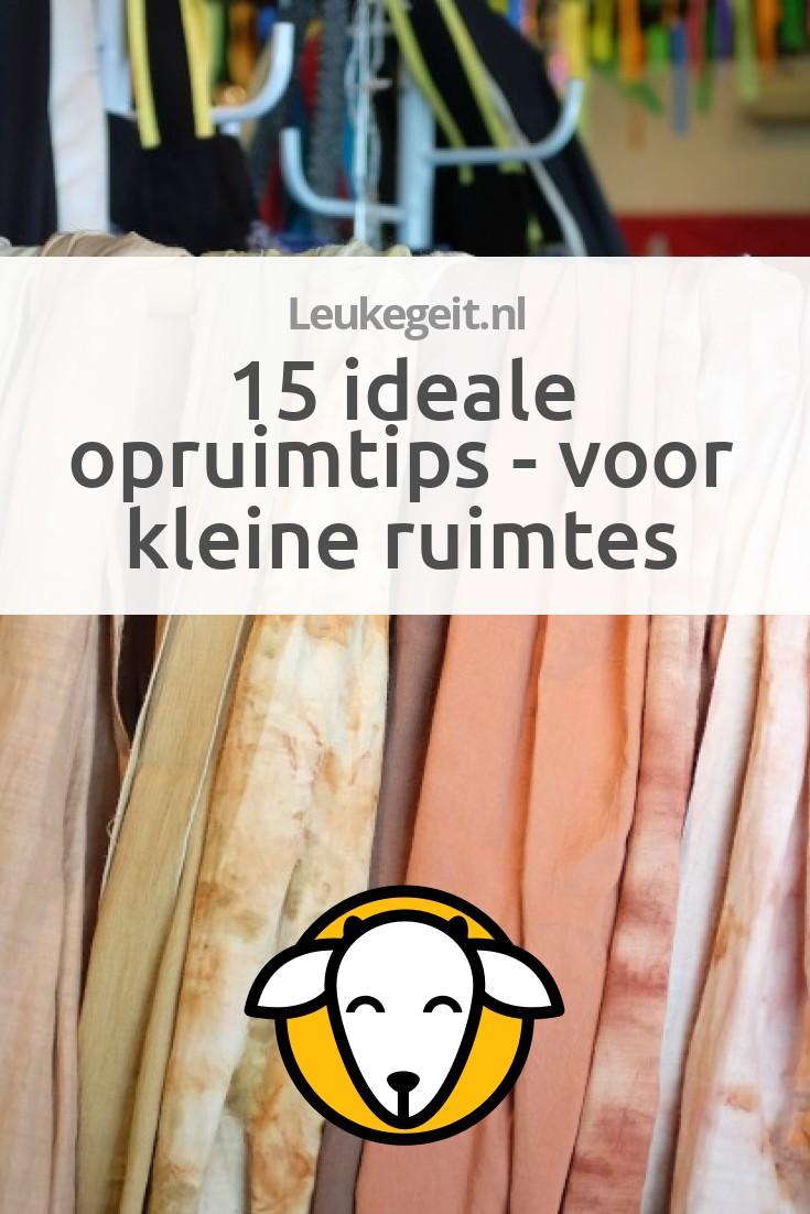 15 ideale opruimtips voor kleine ruimtes leukegeit for Meubels voor kleine ruimtes