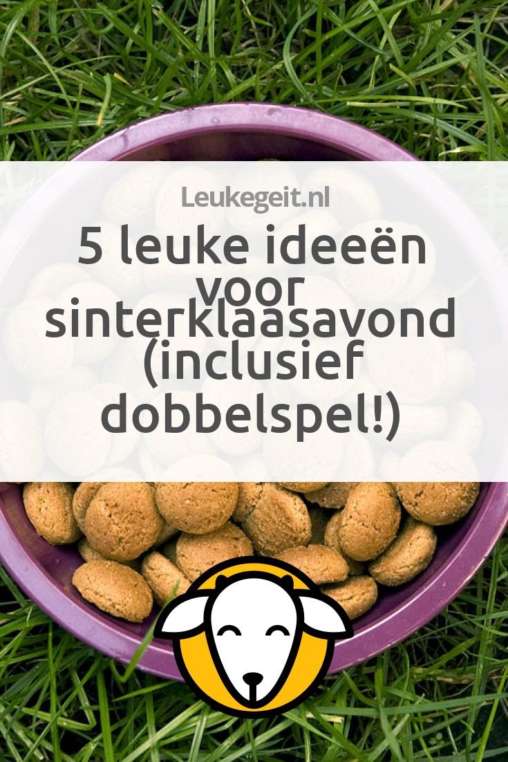 Iets Nieuws 5 leuke ideeën voor Sinterklaasavond (inclusief dobbelspel @CT36