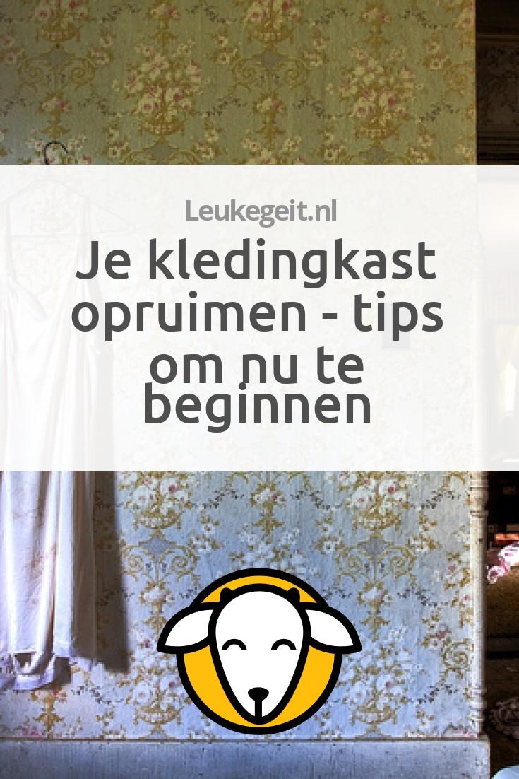 Kledingkast opruimen tips om schoon schip te maken for Tips opruimen