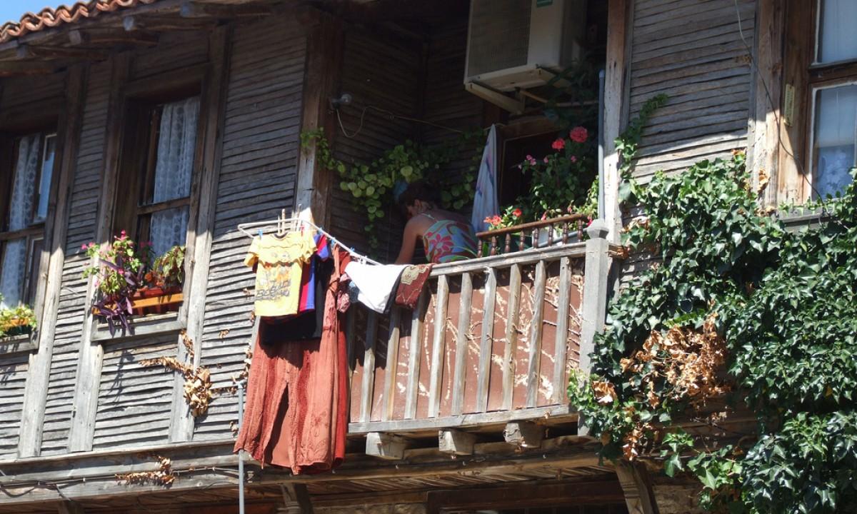 balkonvloer schoonmaken