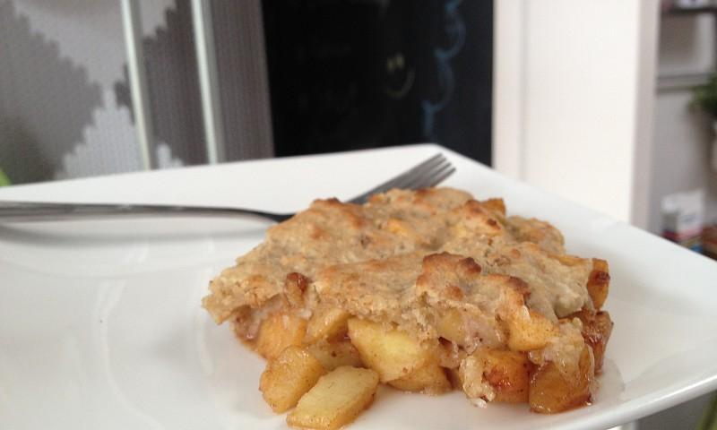 Gezond appeltaart recept – omgekeerde appeltaart