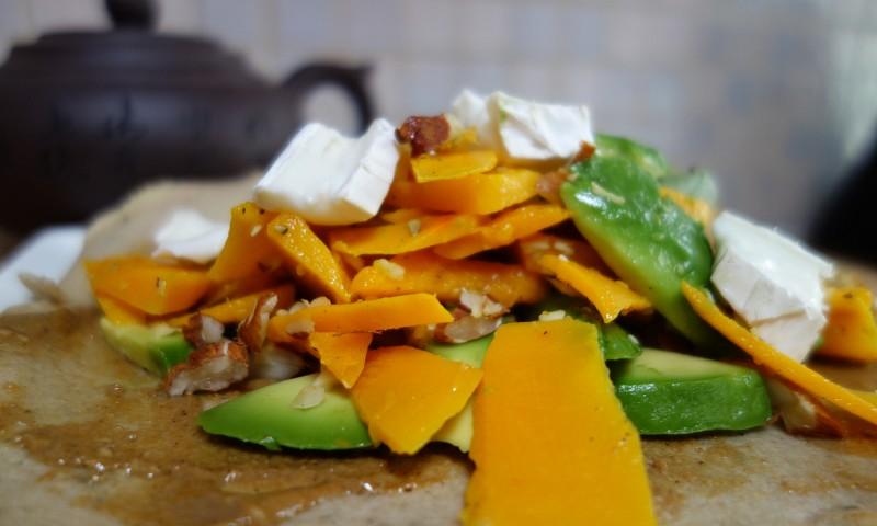 Recept – heerlijke boekweitwraps met pompoen en avocado