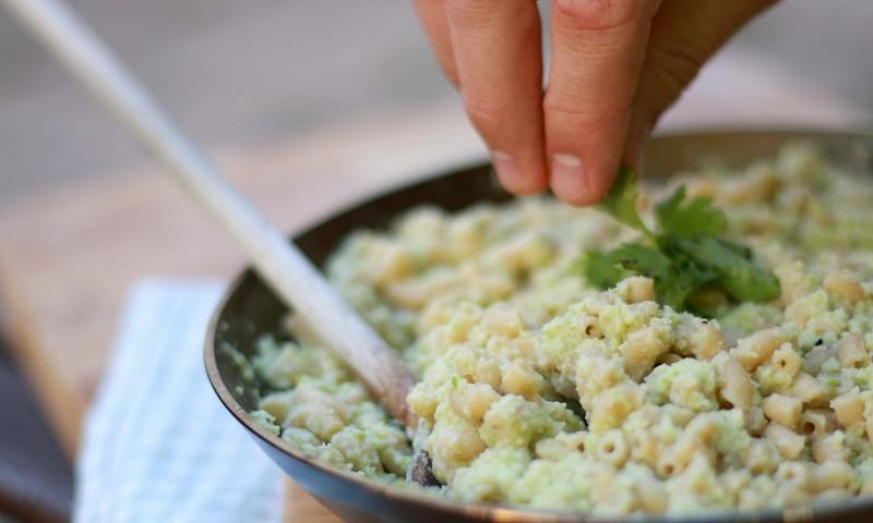 Makkelijk recept – mac en 'cheese' met bloemkool