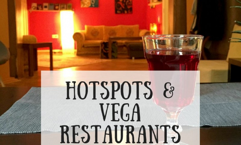 Hotspots en vegetarische restaurants in Sofia
