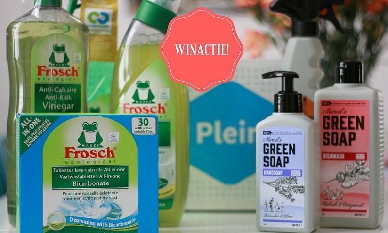 Winactie gesloten: uitgebreid ecologisch schoonmaakpakket