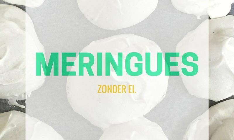 Meringues maken zonder ei (+ instructievideo)