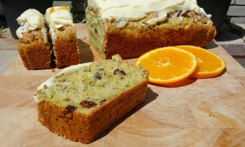 Courgette cake met sinaasappel – OMG te lekker