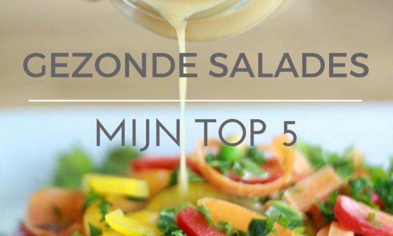 5 gezonde salades die ik graag eet