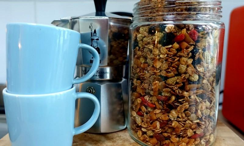 Zelf granola maken – makkelijk en gezond recept