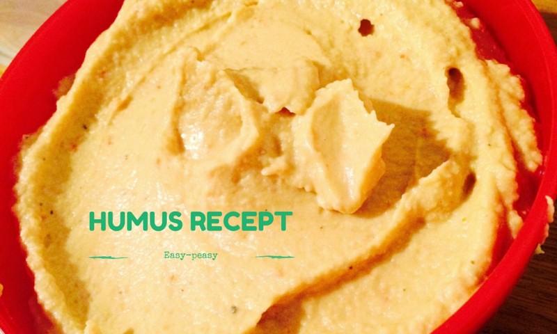 Humus recept zonder olie – easy-peasy & bijzonder lekker