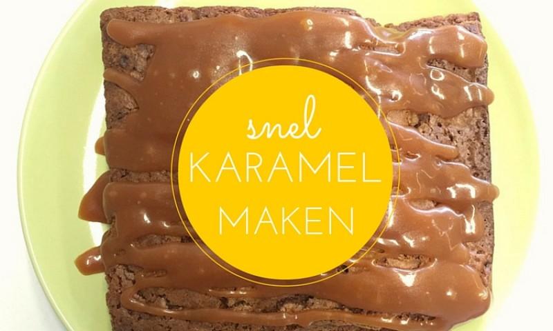 Zelf karamel maken in slechts 10 minuten