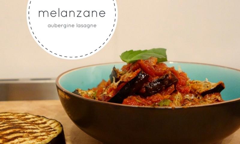 Melanzane aubergine lasagne – met Parmezaanse kaas