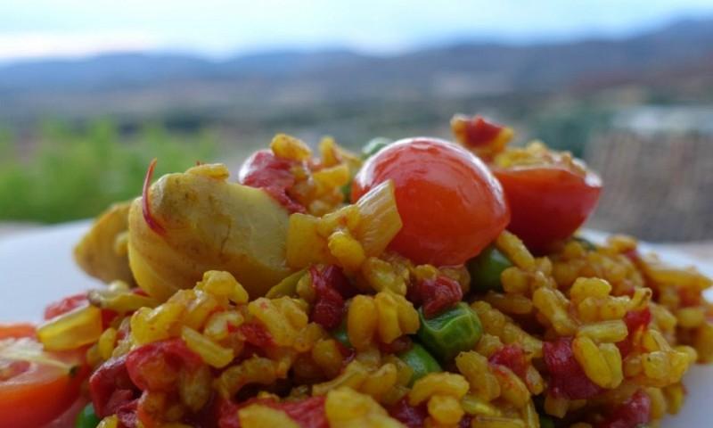 Vegetarische paella – ook lekker zonder vis