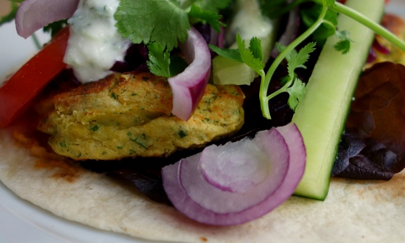 Falafel wraps met tzatziki – Pret a Manger look-a-like