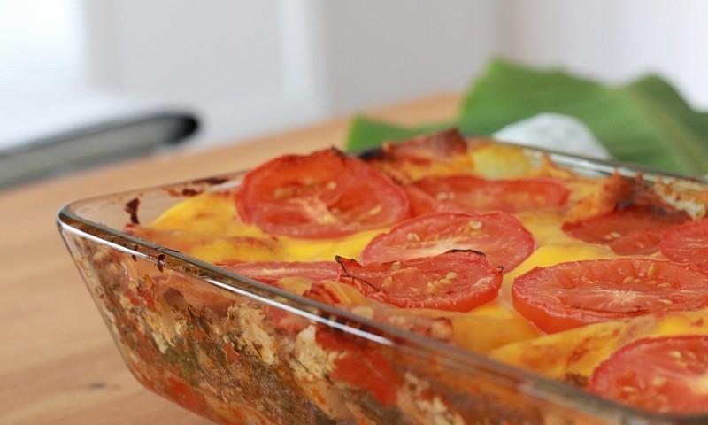 Vegan lasagne met groenten en 'ricotta' (+ video)