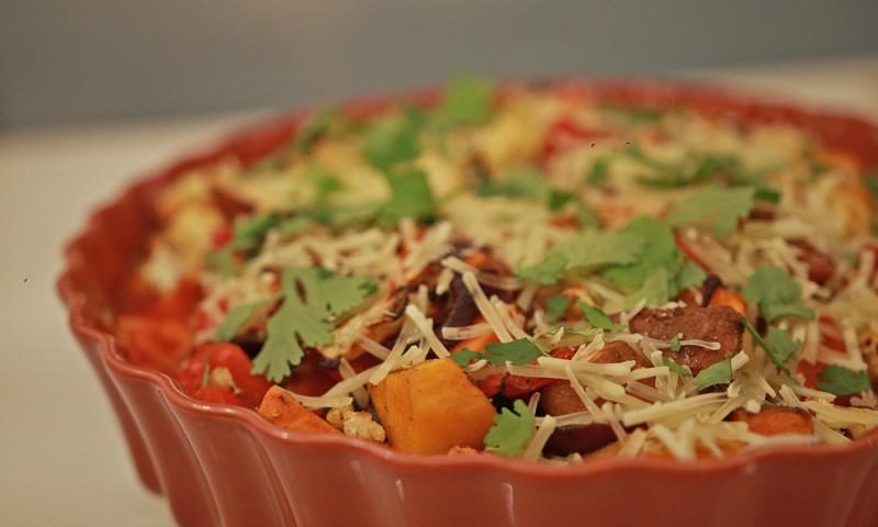 Makkelijke ovenschotel – geroosterde groente casserole