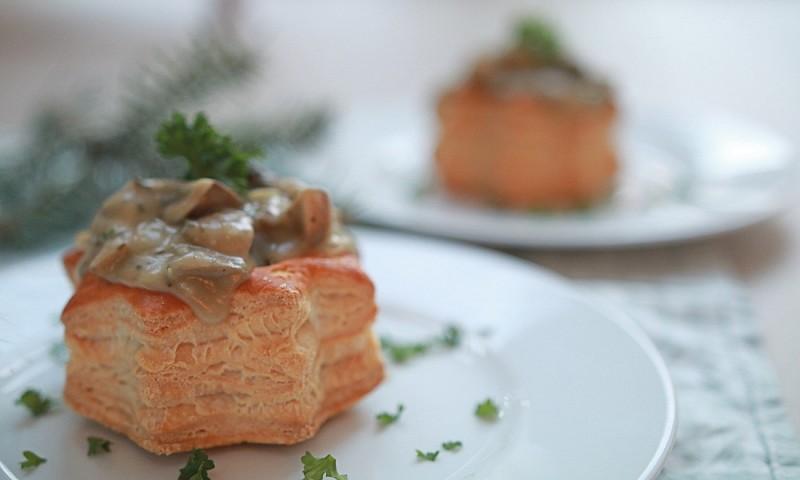 Vegan paddenstoelen ragout – heerlijk kerstrecept