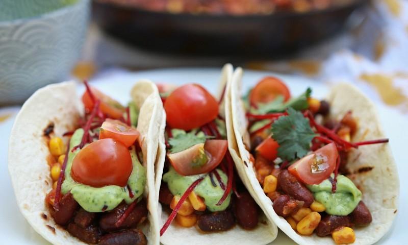 Zomertaco's met frisse guacamole