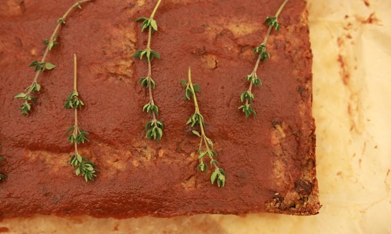 Walnoten-linzenbrood (mijn vegan meatloaf versie)