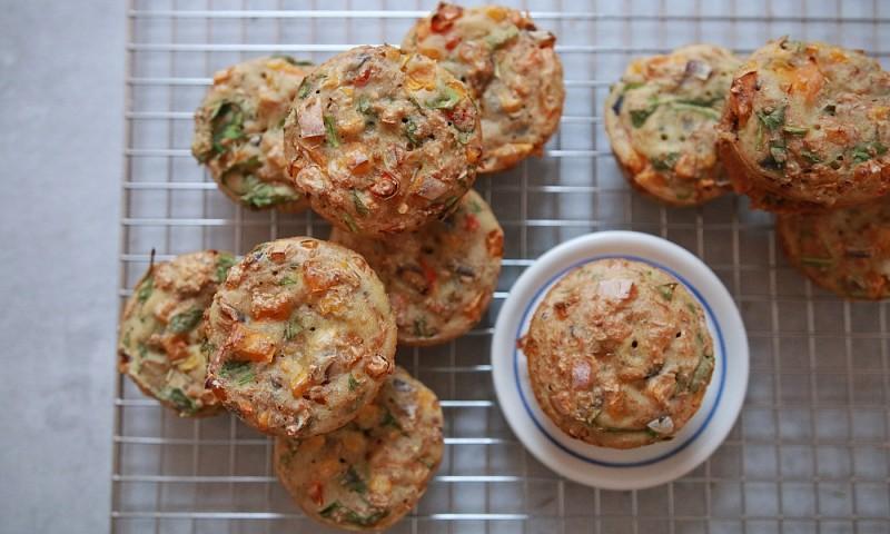 Gezonde & hartige muffins