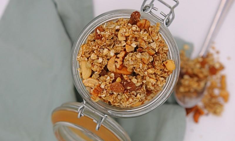 Lekker granola recept uit de pan