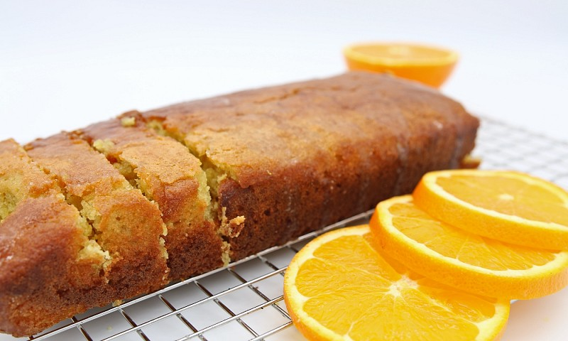 Makkelijke & lekkere sinaasappelcake