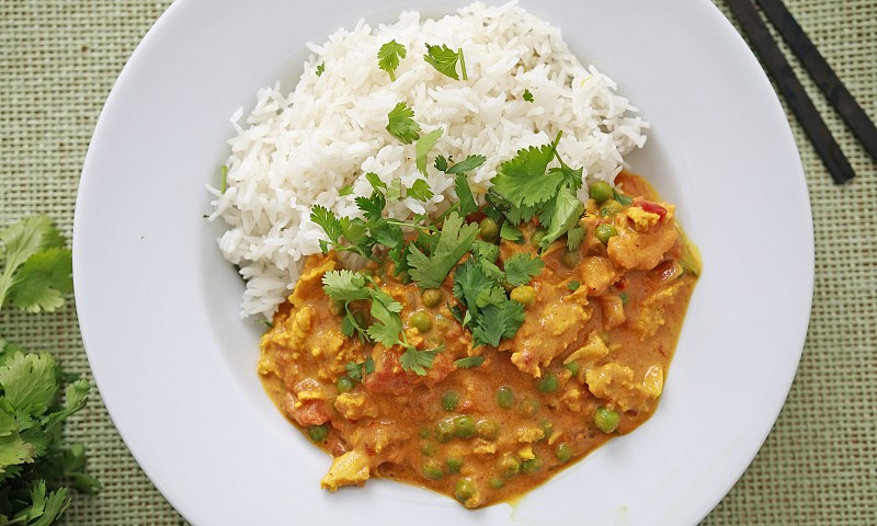 Vegan 'Chicken' Tikka Masala