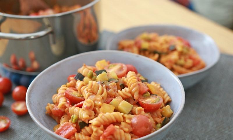 One pot romige pasta