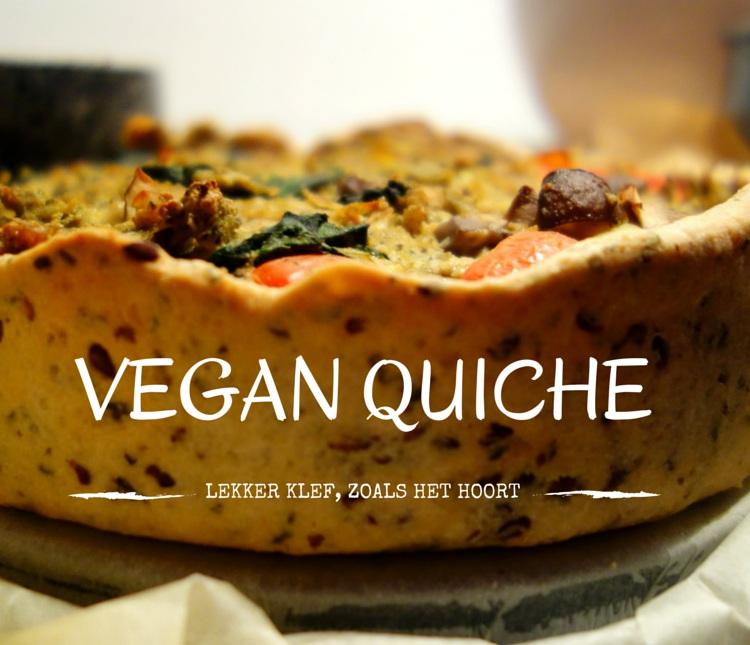 vegan quiche met tofu zongedroogde tomaat champignon video leukegeit. Black Bedroom Furniture Sets. Home Design Ideas