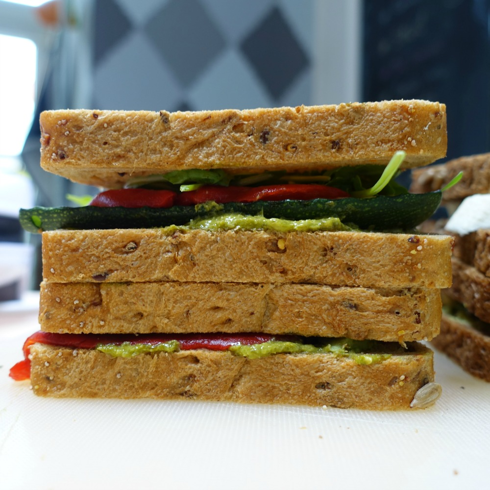 tosti zonder kaas - vegetarisch broodbeleg