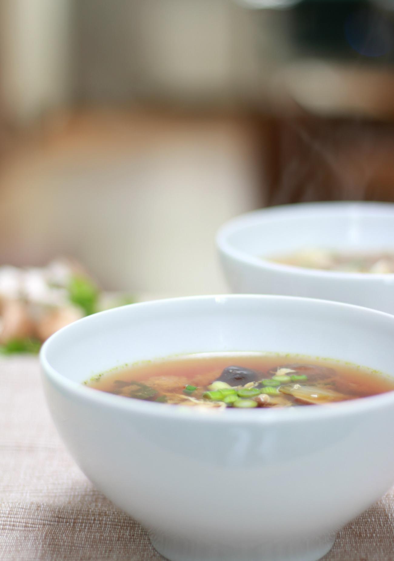 miso soep met tofu