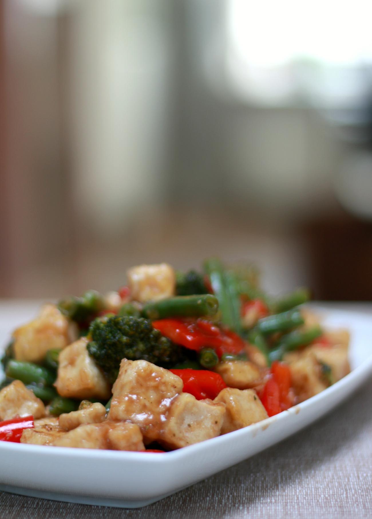 tofu bereiden - roerbakken tofu