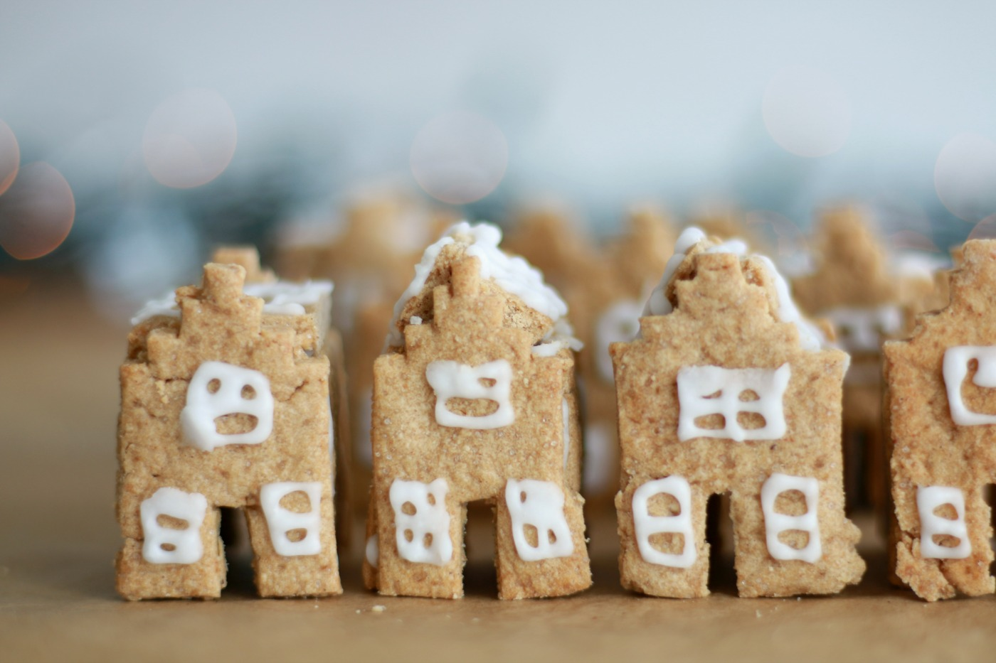 Gingerbread house - Delftse huisjes