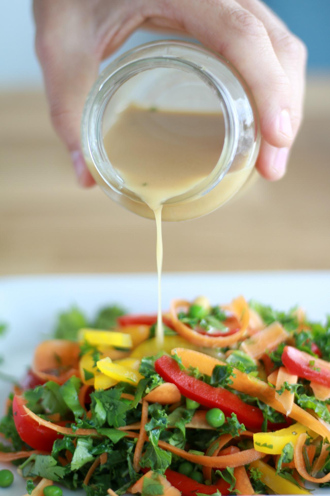 Thaise salade - gezonde salade