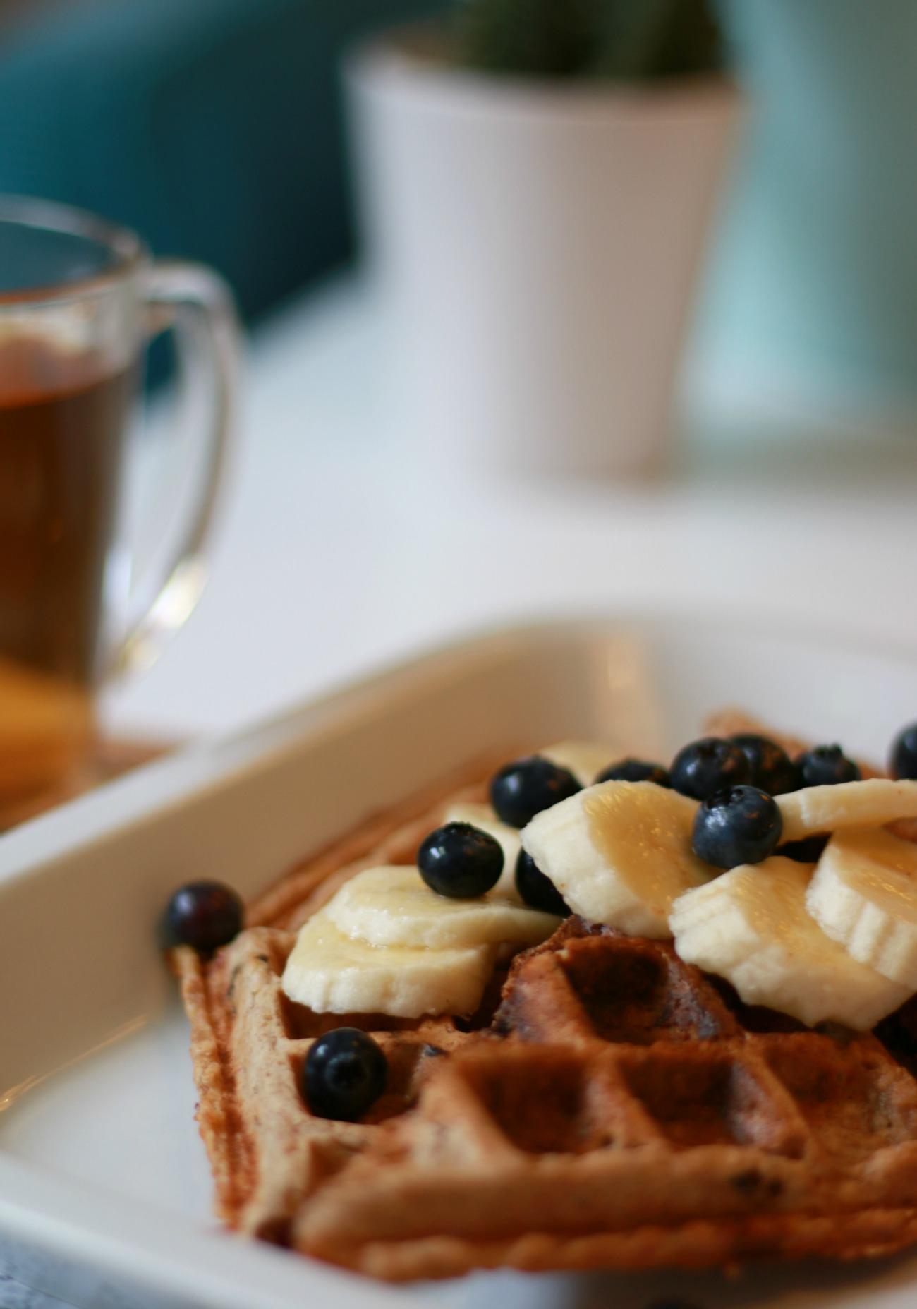 wafels maken zonder ei en melk