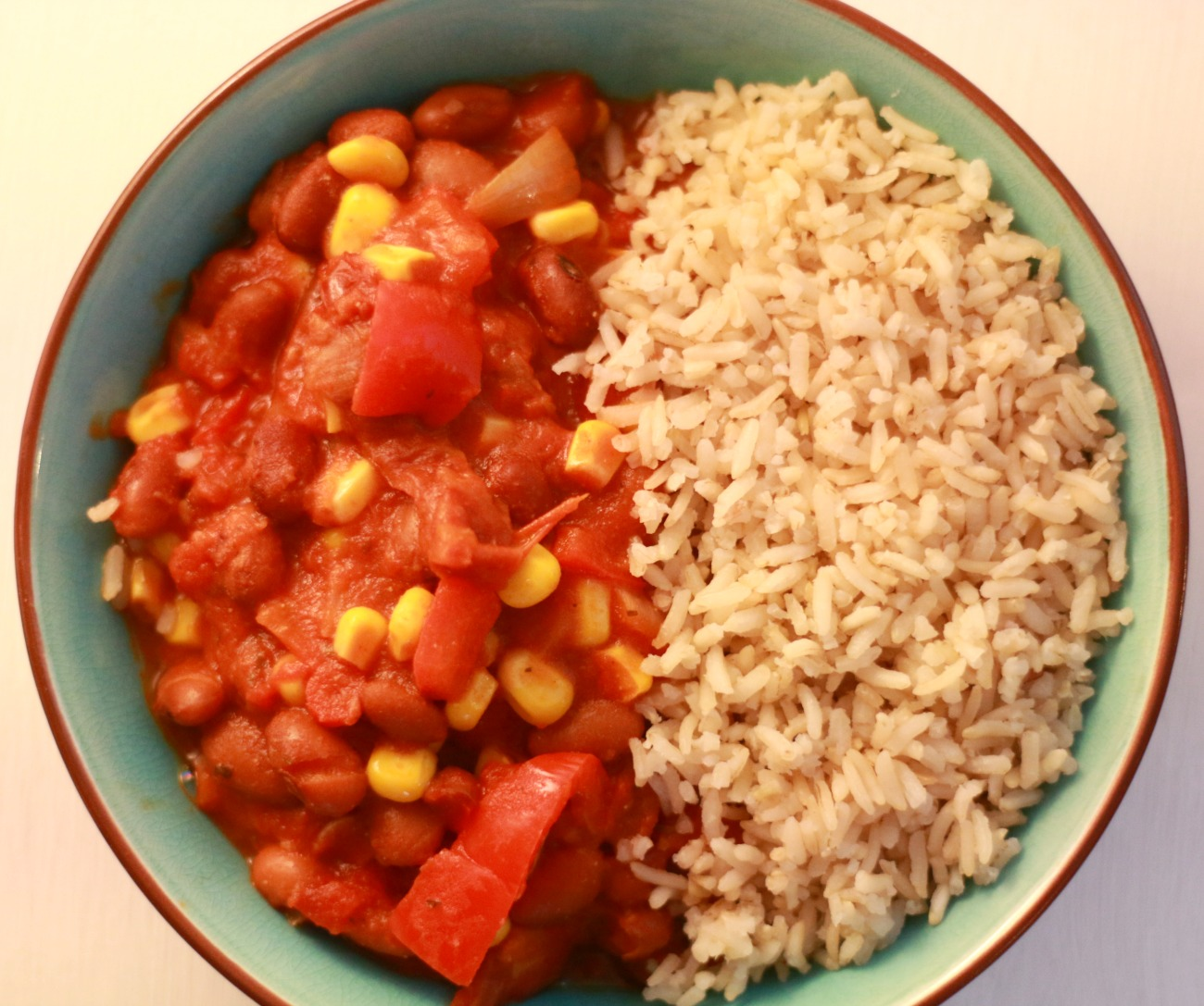 recept vegan chili sin carne