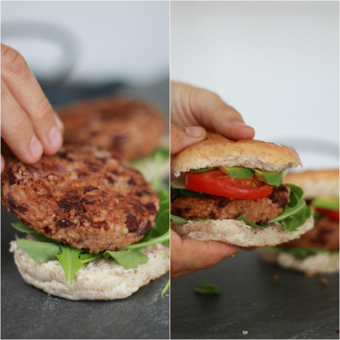 recept vegan burger