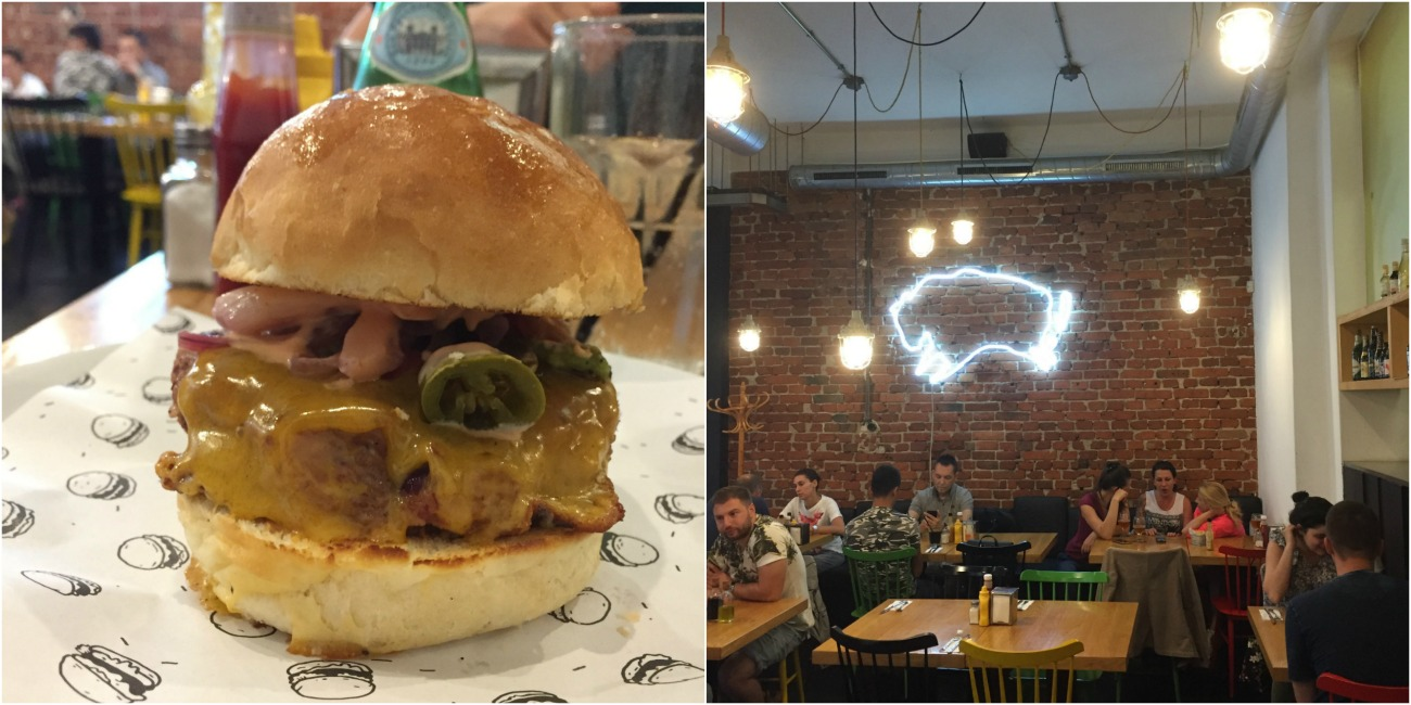Boom Burger in Sofia