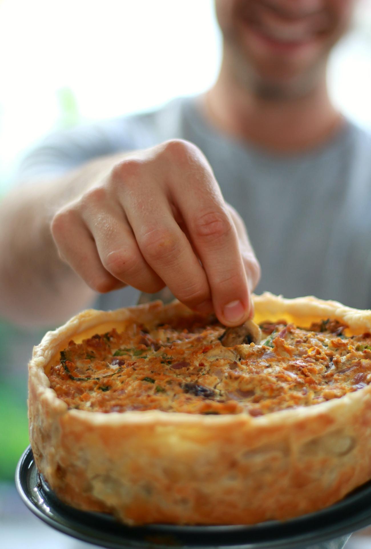 recept groentequiche
