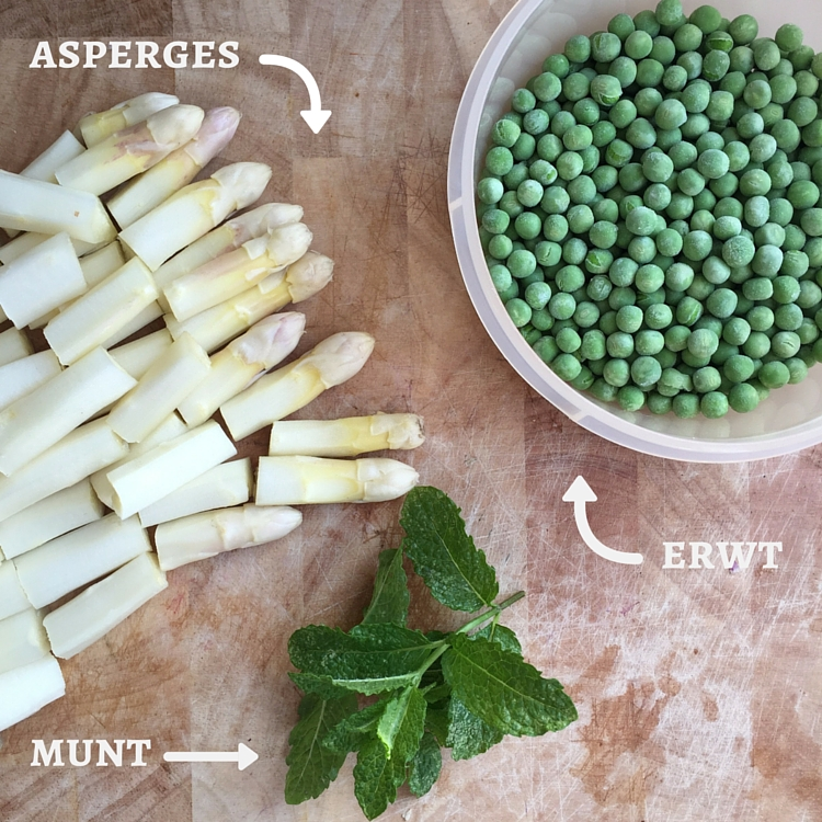recept risotto met witte asperges