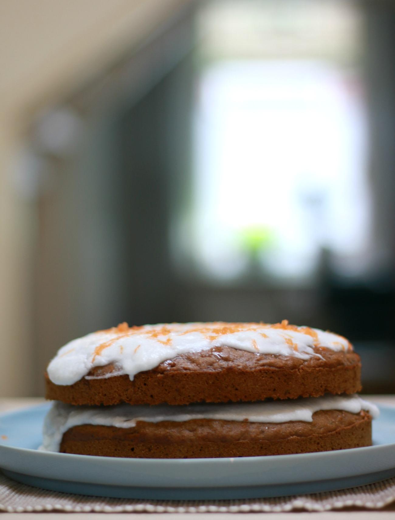 vegan carrot cake recept