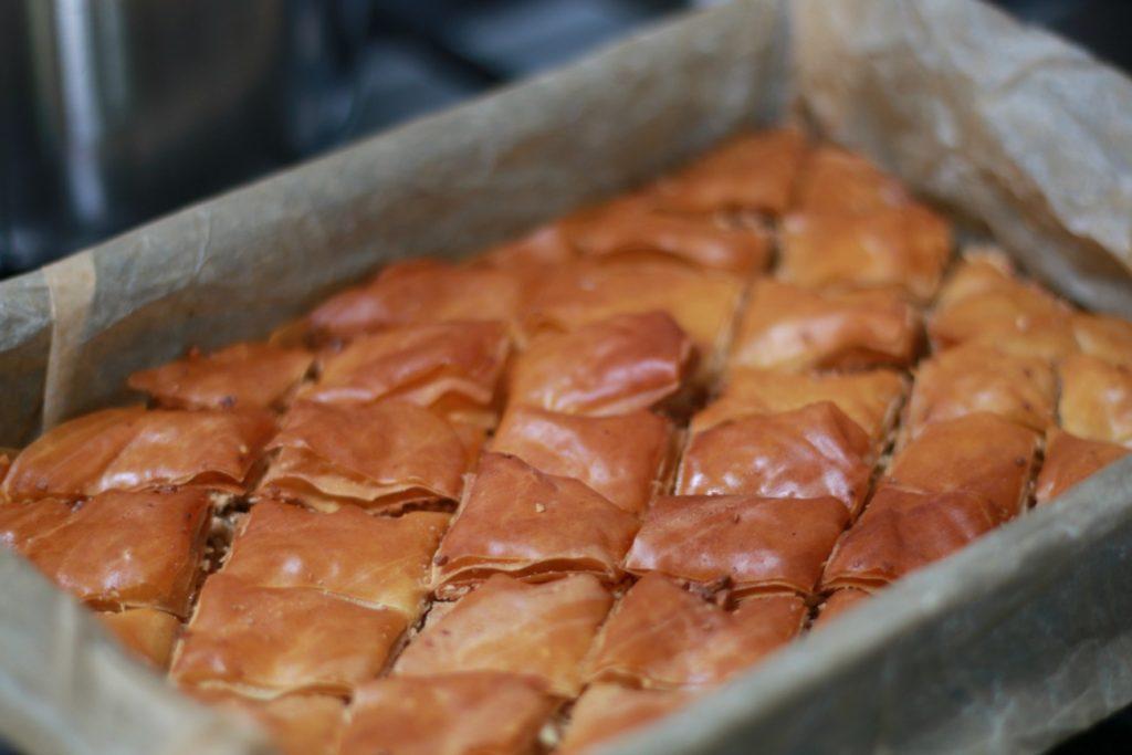 baklava maken met noten