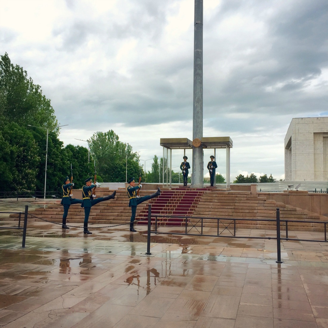 Change of the guards - Bishkek