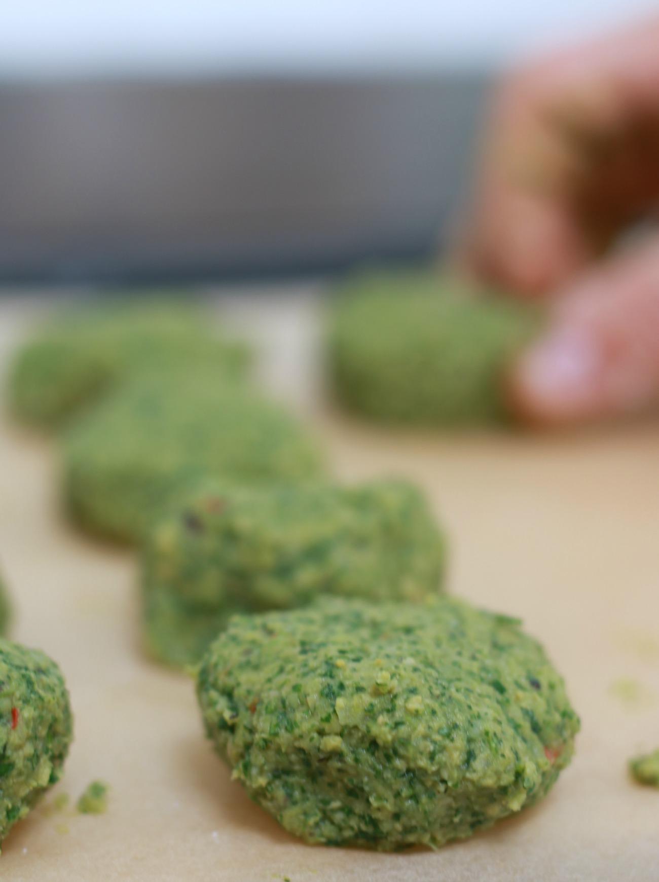 vegan falafel recept