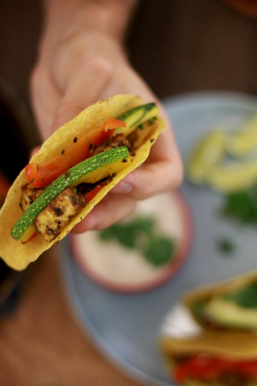 gevulde taco's