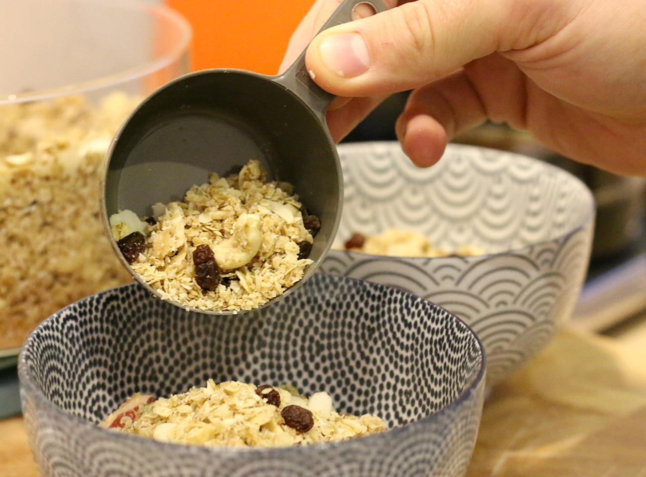 granola recept met havermout
