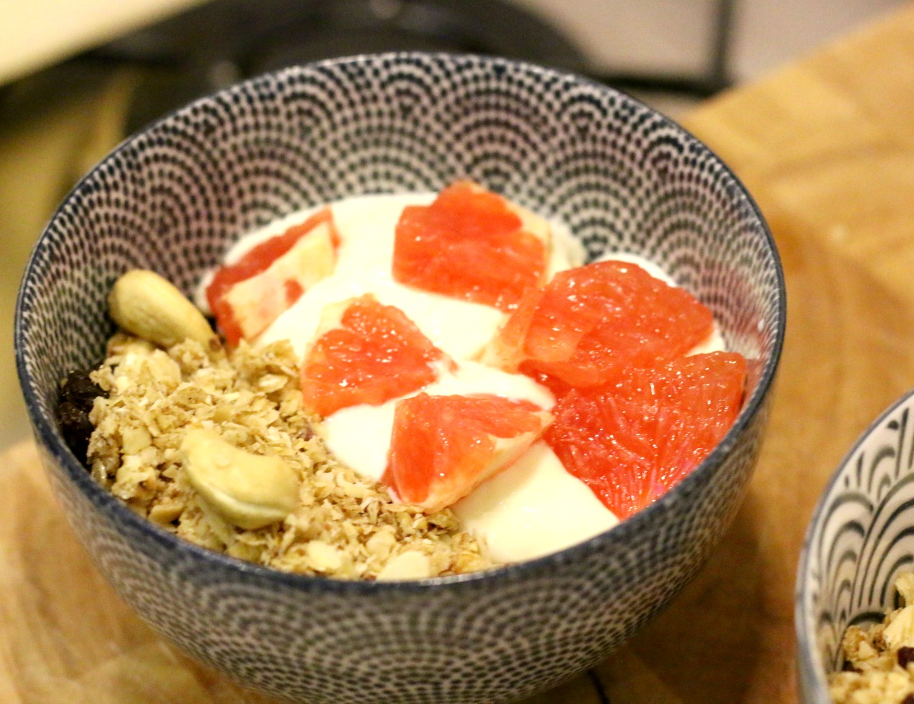 granola recept met cashewnoten