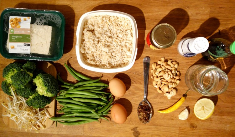 gado gado recept met groenten en tofu